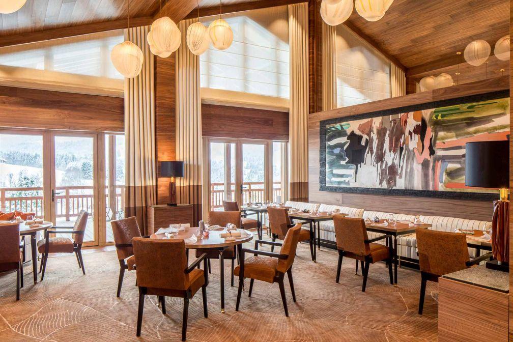 Le restaurant gastronomique Le 1920, deux-étoiles Michelin anciennement au Chalet du Mont d'Arbois, est désormais dans l'enceinte du Four Seasons © Four Seasons