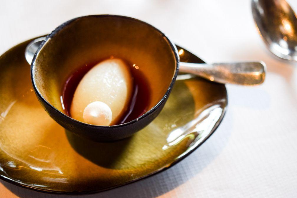 Pré-dessert pour se rafraîchir le palais © Yonder.fr