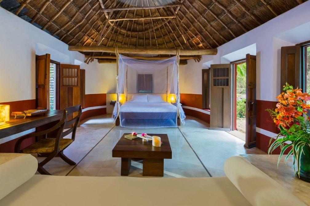 À l'intérieur d'une Mayan Villa, tout le confort d'un hôtel de luxe © Starwood Luxury Collection