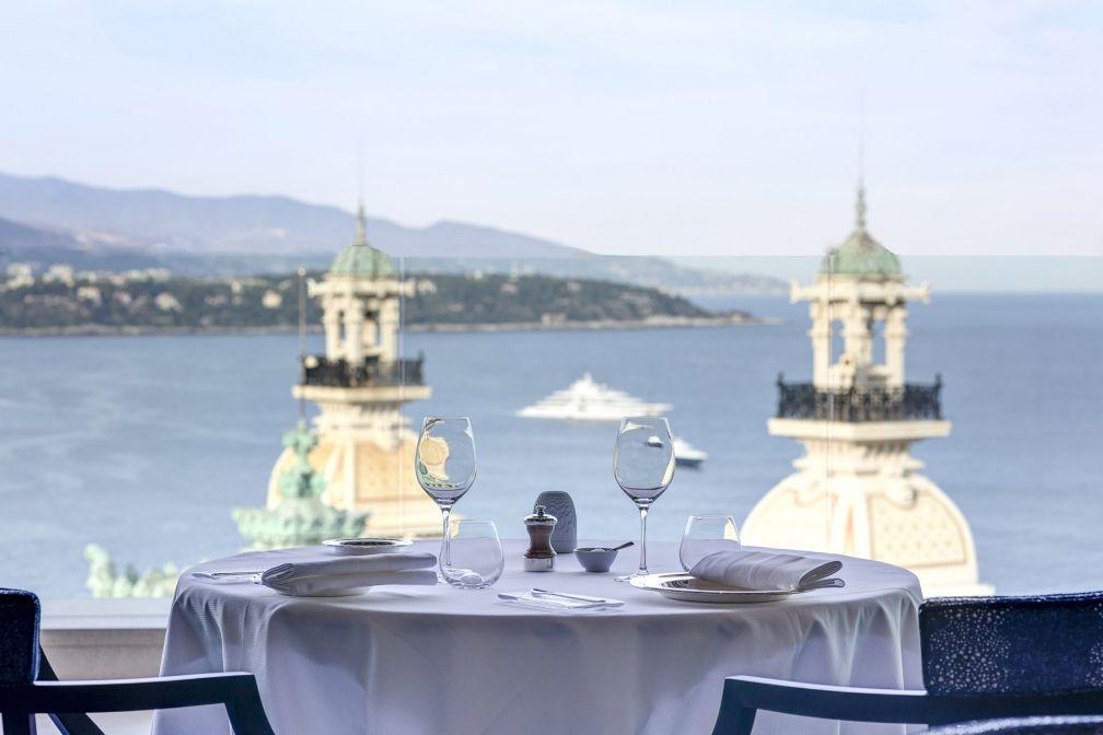 Le Grill, restaurant avec vue de l'Hôtel de Paris Monte-Carlo © SBM