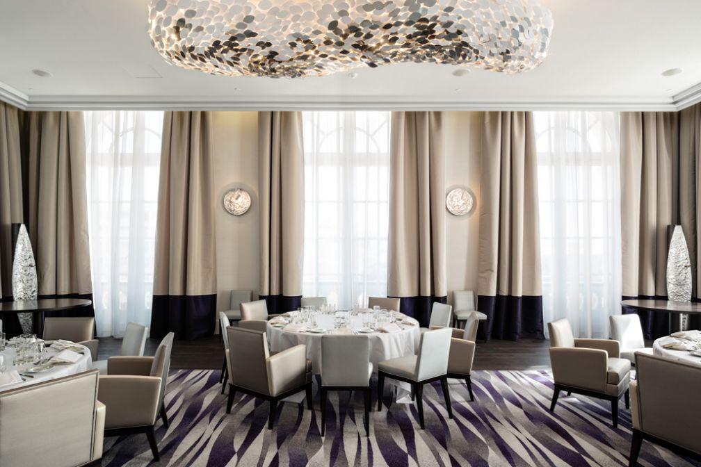 Le restaurant Alcyone (chef Lionel Levy) est l'une des quatre tables étoiles de la ville © IHG
