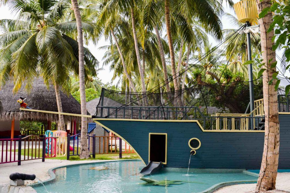 Le Kid's Club du LUX* South Ari Atoll, un véritable paradis pour les petits © YONDER.fr