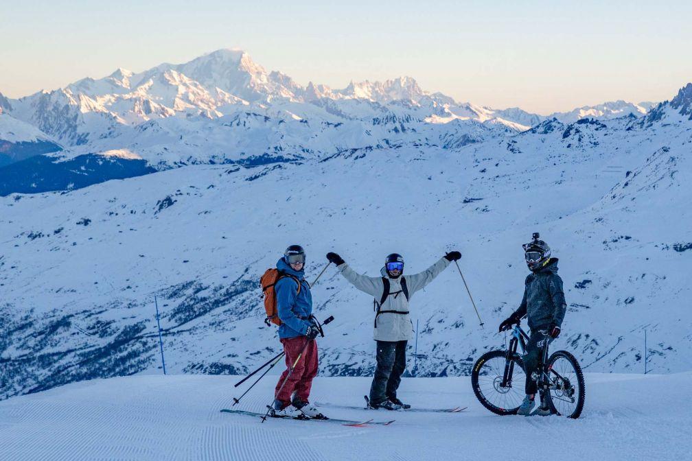 Les activités proposées par la stations pour profiter de la neige sont innombrables © Cyril Gervais