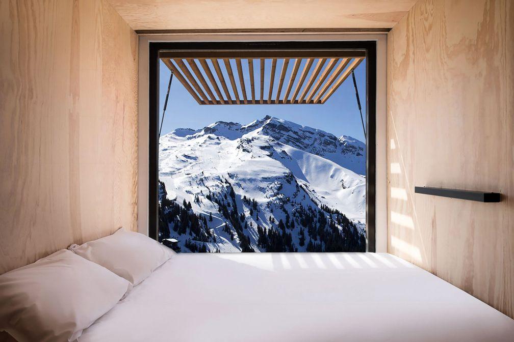 Le concept de Flying Nest ? Un hébergement modulable et mobile imaginé par AccorHotels et le designer Ora-ïto © DR