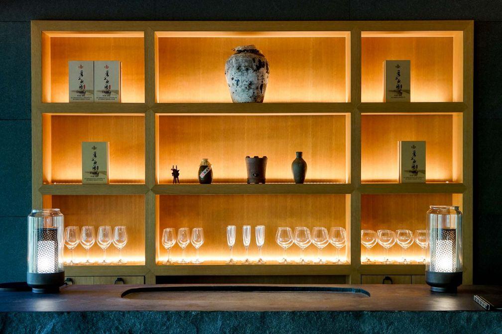 Détails de décoration dans le restaurant de cuisine chinoise Lazhu © YONDER.fr