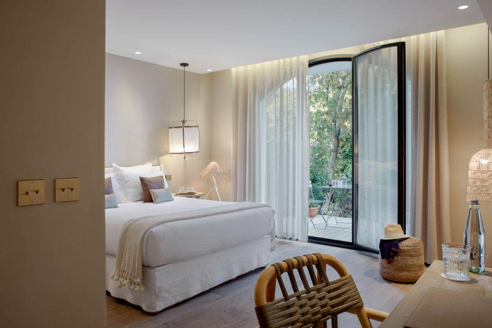 Chambre Classique avec terrasse dans l'hôtel © DR