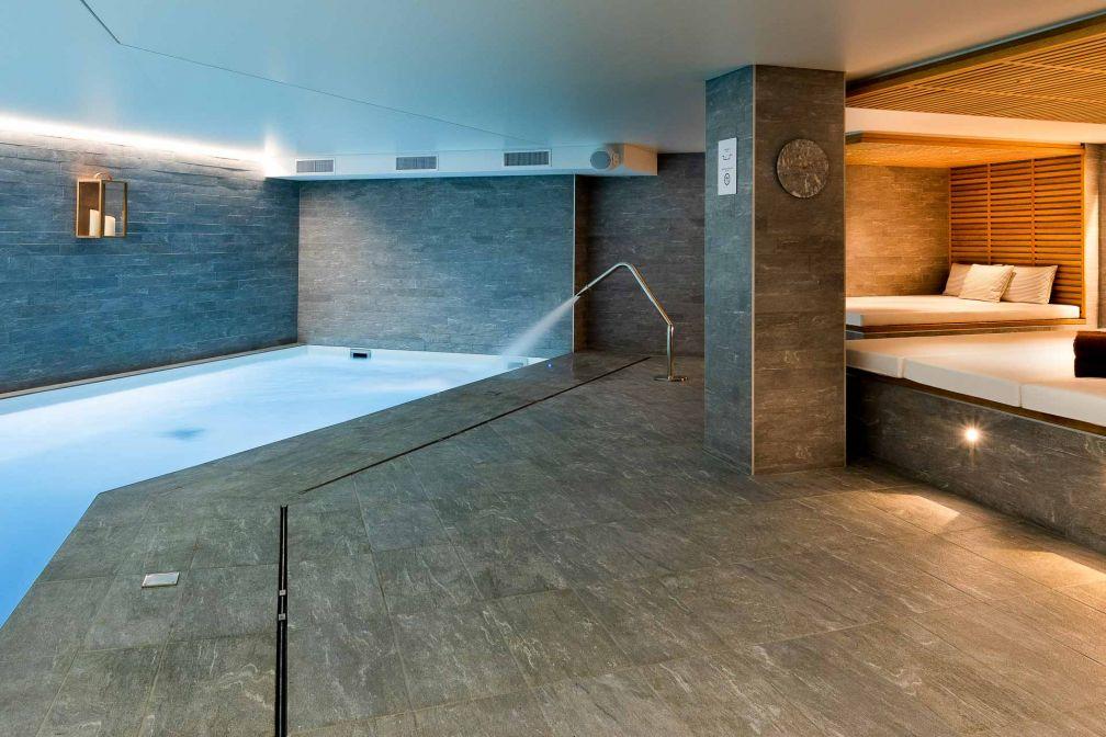 La piscine intérieure du St-Alban Hôtel & Spa © Fabrice Rambert