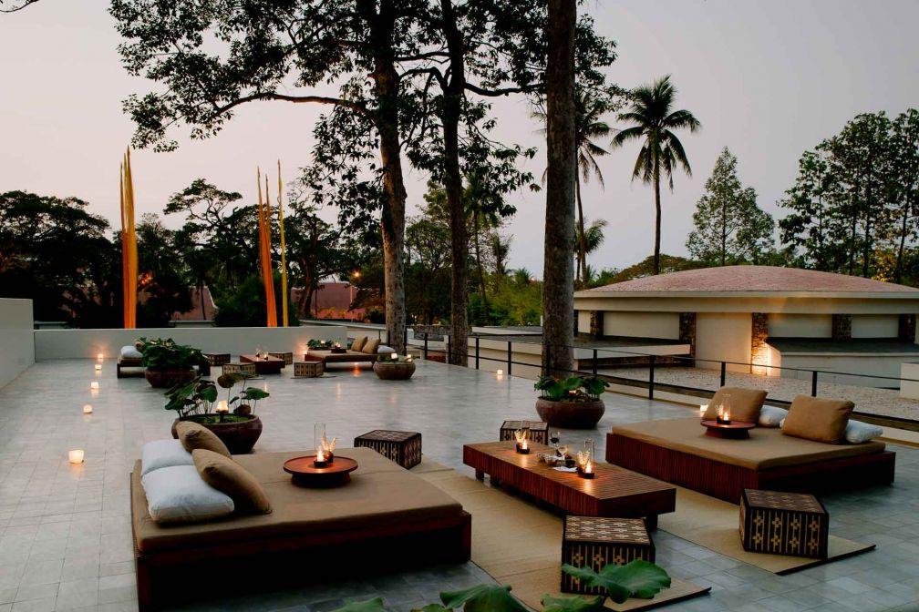 Un rooftop joliment aménagé est également à la disposition des guests à la belle saison © Aman