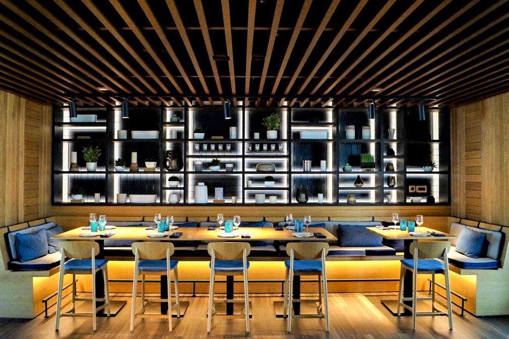 L'un des espaces du restaurant gastronomique portugais Tasca © E.B.Gimbert