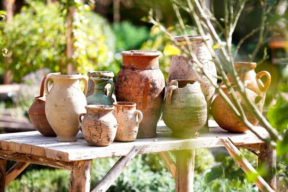 Rien n'a été laissé au hasard en termes de décoration, y compris dans les jardins de l'établissement © Philippe Doignon
