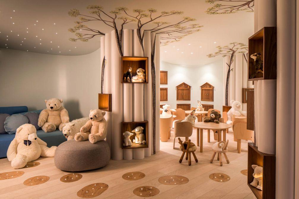 Le Royaume des Enfants accueille les enfants de 3 à 12 ans, dans un univers qui évoque la nature © Four Seasons