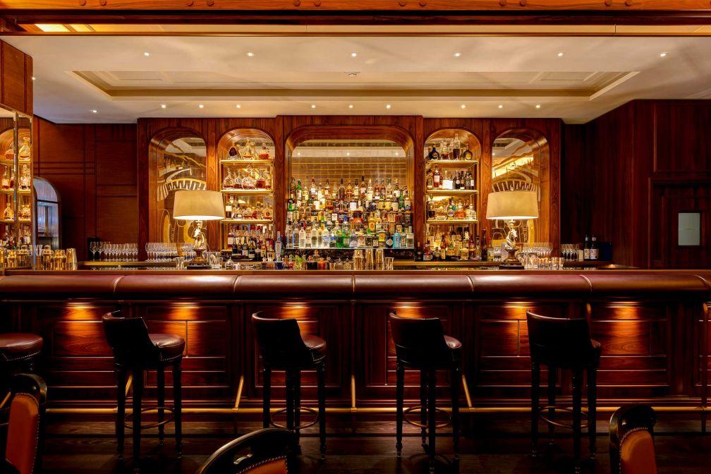 Atmosphère feutrée au Bar Américain © SBM