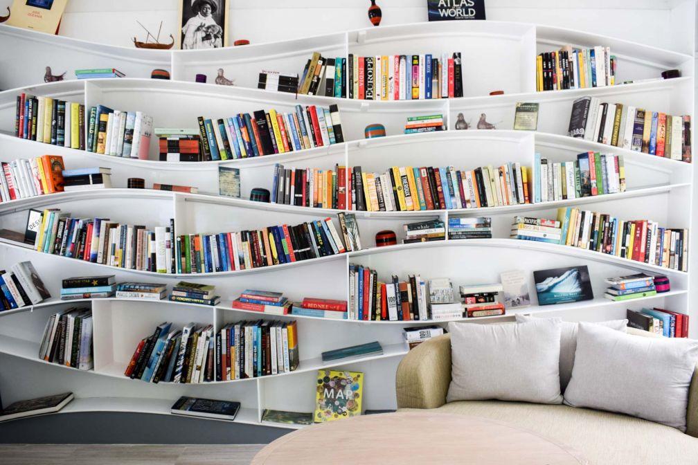 La bibliothèque, un autre lieu qui fait la différence © YONDER.fr