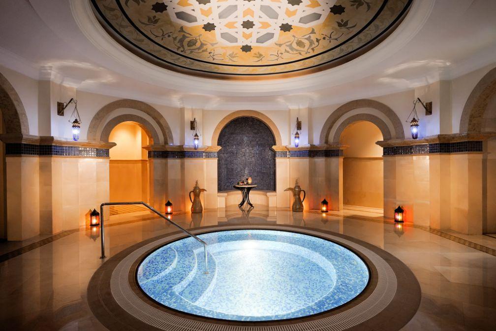 À l'intérieur du très beau spa... © One&Only