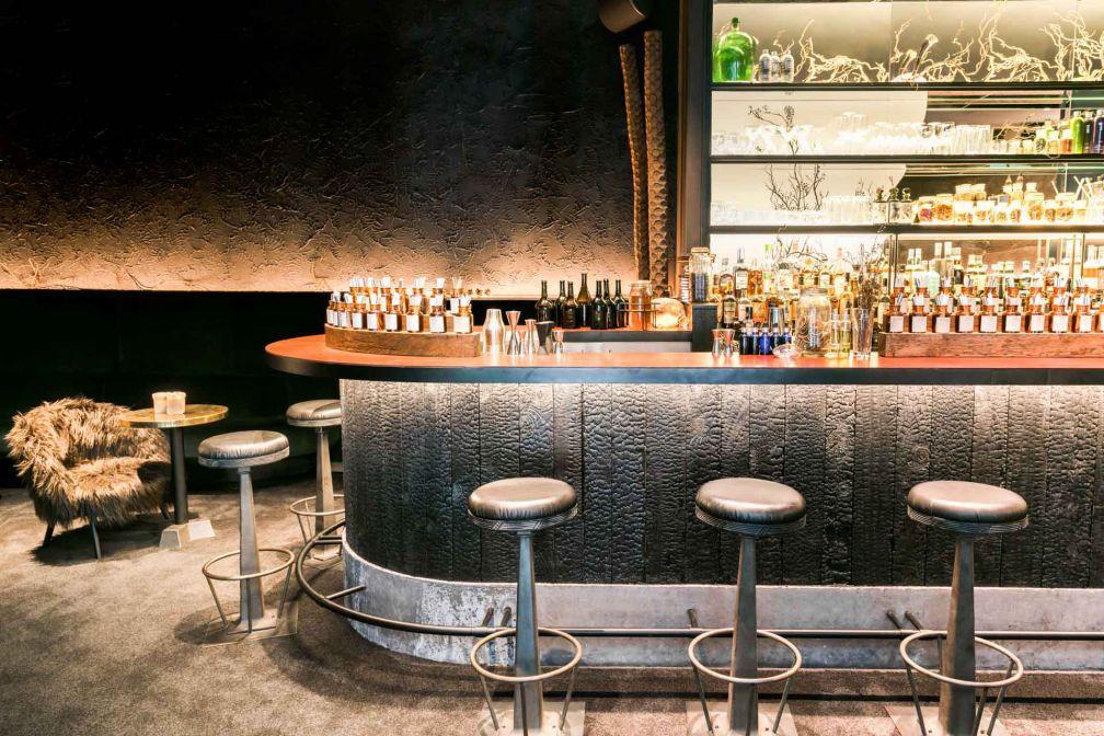 Le Bar Herbarium de l'Hôtel National des Arts et Métiers, une excellente alternative au rooftop de l'hôtel si ce dernier fait déjà le plein © Jérôme Galland