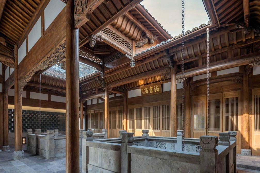 Le Nan Shufang, ambitieux complexe culturel, est installé dans l'une des plus belles villas antiques de l'Amanyangyun © Aman
