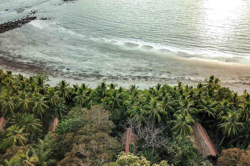 Seuls quelques bungalows discrets peuplent Isla Palenque, destination confidentielle et sauvage au Panama © DR
