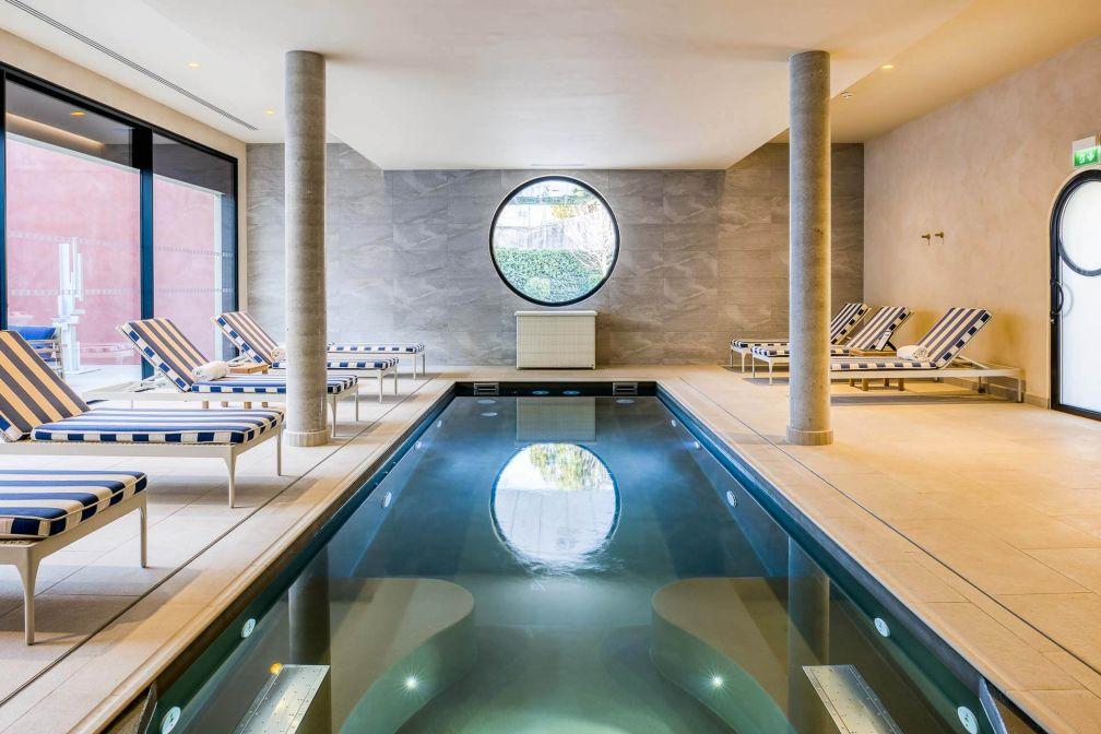Lhôtel Imperator est désormais doté d'un spa Codage de 350 m2  © Stefan Kraus