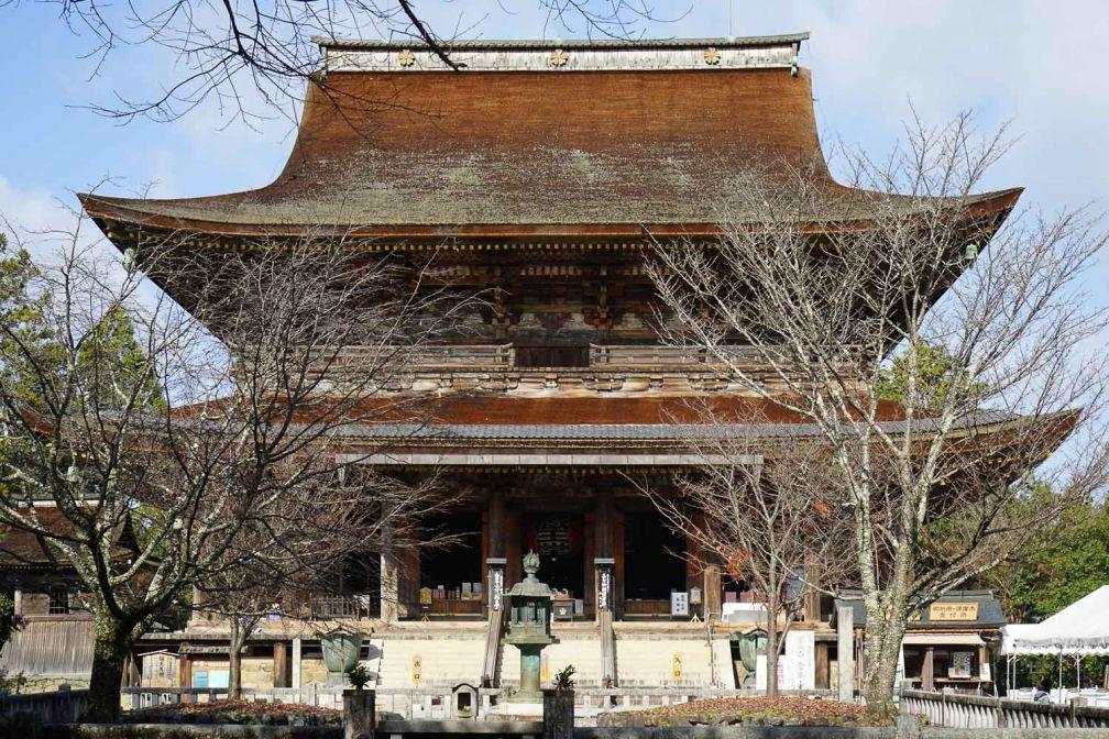Kinpusen-ji est le principal temple de la religion ascétique 'shugendō