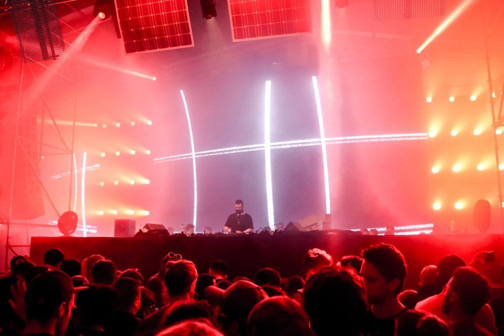 La scène Audio pendant le DJ set de Noir © Yonder.fr