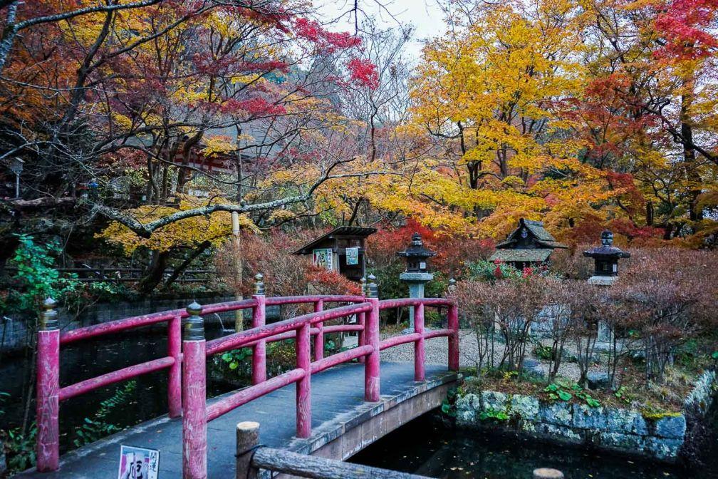 Le sanctuaire shinto Tanzan-jinja, également appelé temple Tōnomine est situé près de Sakurai © YONDER.fr