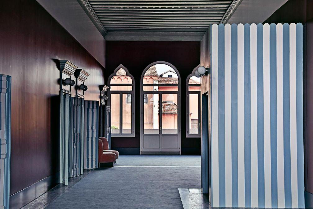 Design léché et atmosphère cool, Il Palazzo Experimental impose son style à Venise © Karel Balas
