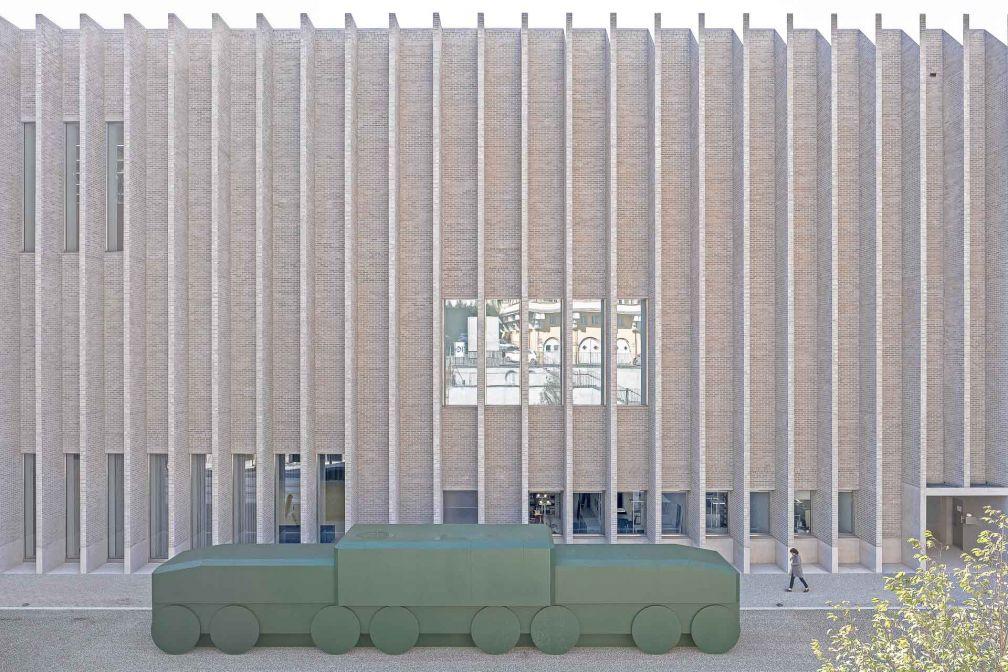 Plateforme 10 est l'ambitieux pôle muséal de Lausanne, partiellement dévoilé à l'automne 2019 © Dominik Gehl