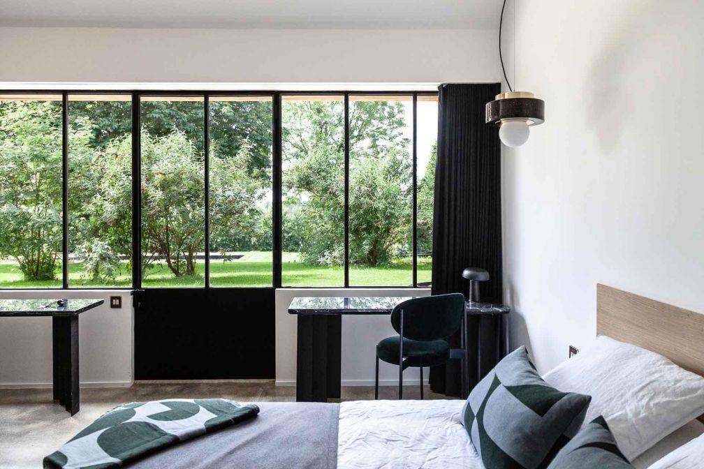 L'une des chambres d'hôtes de Maison Ceronne © DR