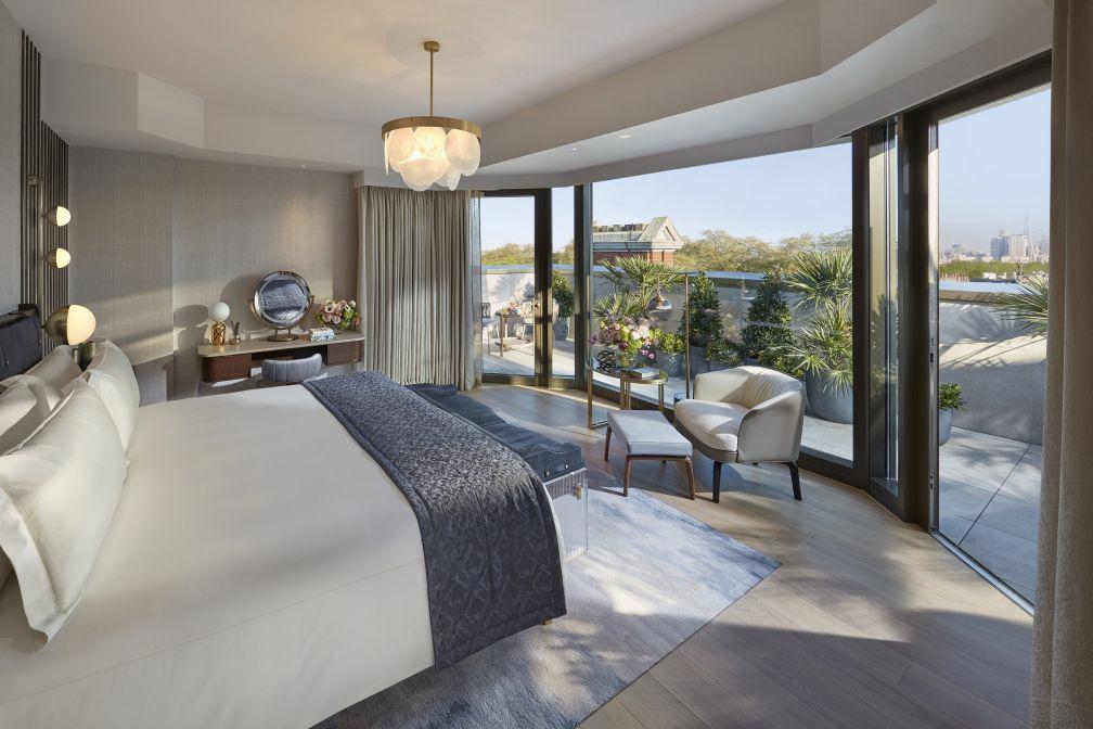 Mandarin Oriental Hyde Park : sa métamorphose en fait l'un des plus hôtels du monde © Mandarin Oriental