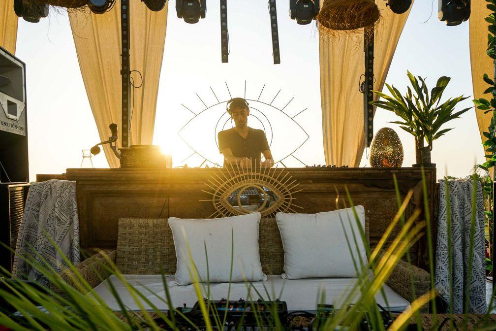 Le DJ (mais aussi producteur, promoteur, programmateur...) Driss Skali, originaire de Casablanca © MB / YONDER.fr