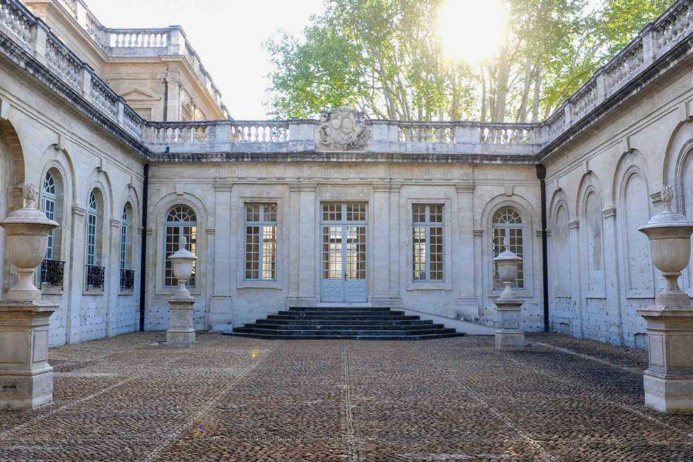 Cour d'honneur du Musée Calvet © A.Rudelin