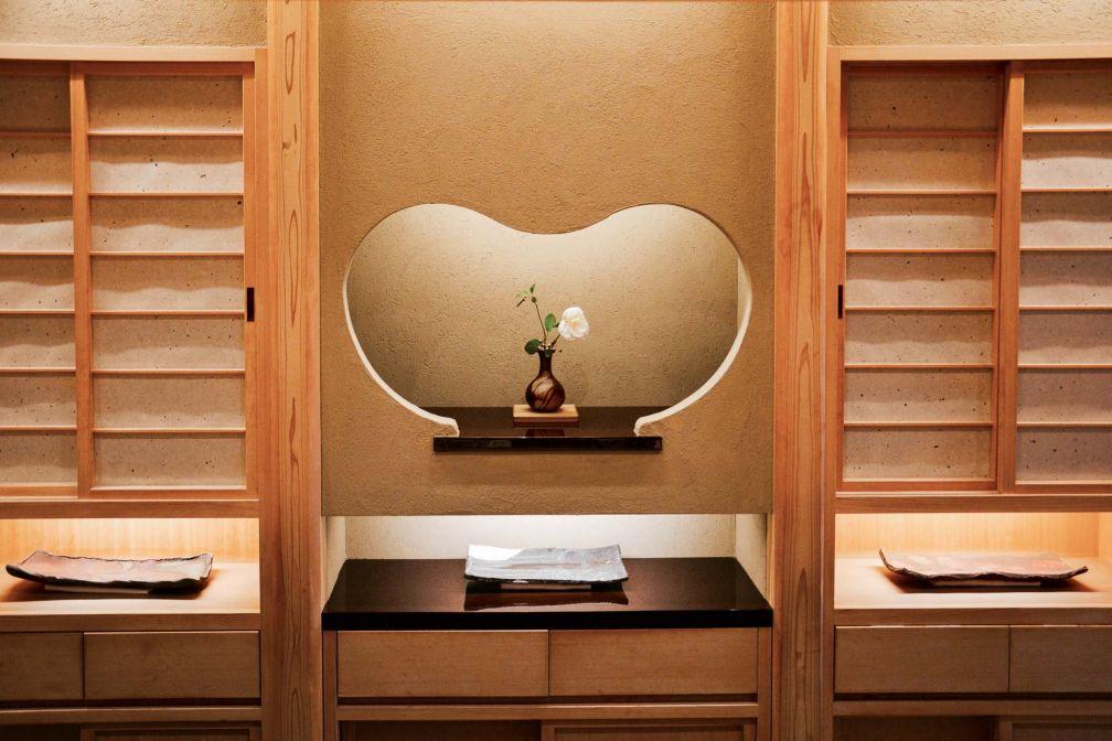 Pénétrer chez Okuda, dans le Triangle d'or parisien, permet de voyager au Japon © YONDER.fr