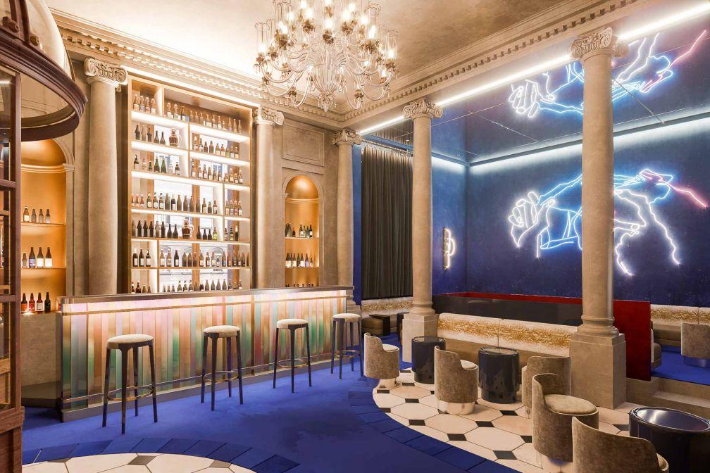 Cuisine japonaise et décor glamour sont au programme de RAN, nouvelle adresse à venir du Moma Group (Froufrou, MANKO, NOTO Paris...) dans un hôtel particulier du 8ème © DR