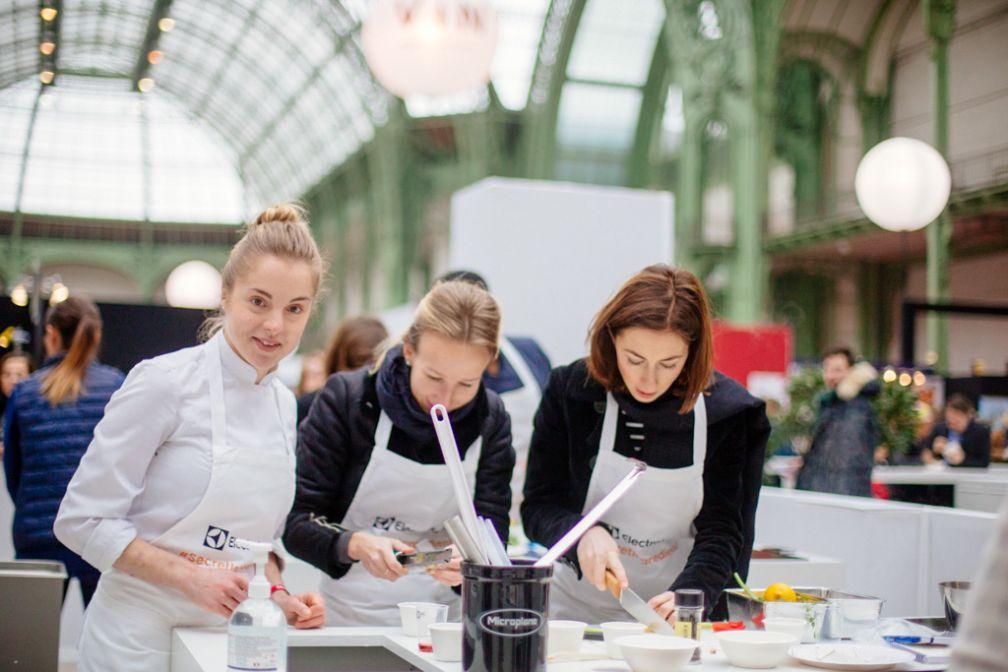 Sous la nef du Grand Palais pendant l'édition 2016 de Taste of Paris.