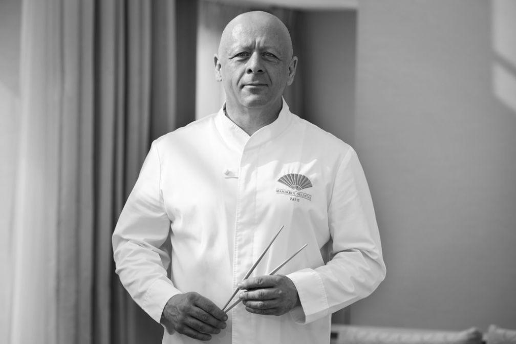 Thierry Marx est depuis 2010 à la tête des cuisines du Mandarin Oriental Paris © Roberto Frankenberg