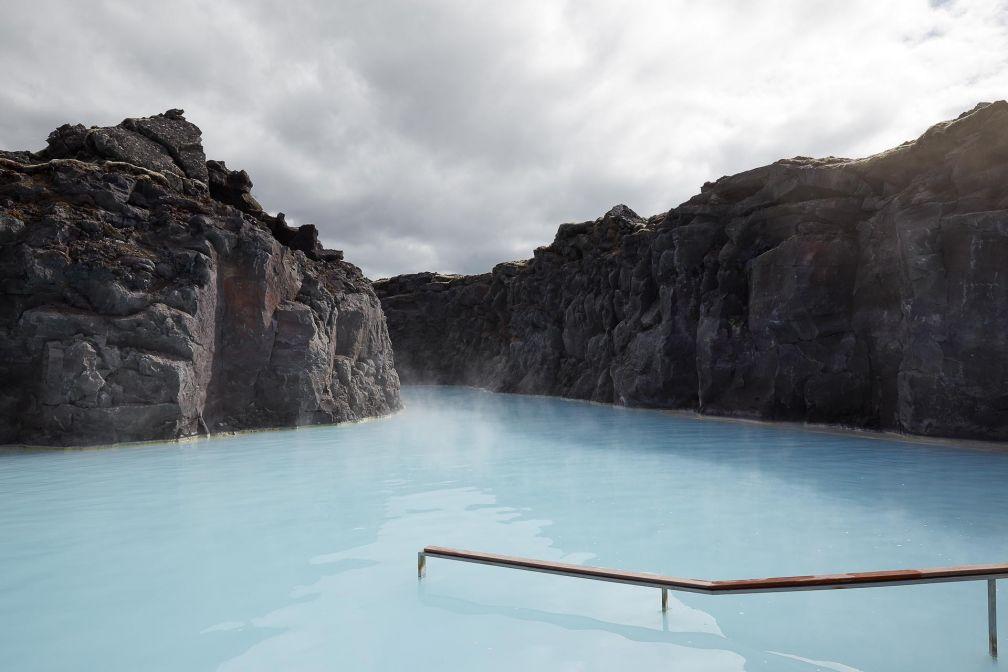 Le lagon privé de l'hôtel © The Retreat at Blue Lagoon