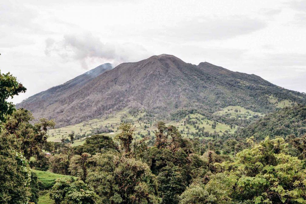 Le volcan Turrialba, incontournable dans la Vallée Centrale au Costa Rica © Constance Lugger