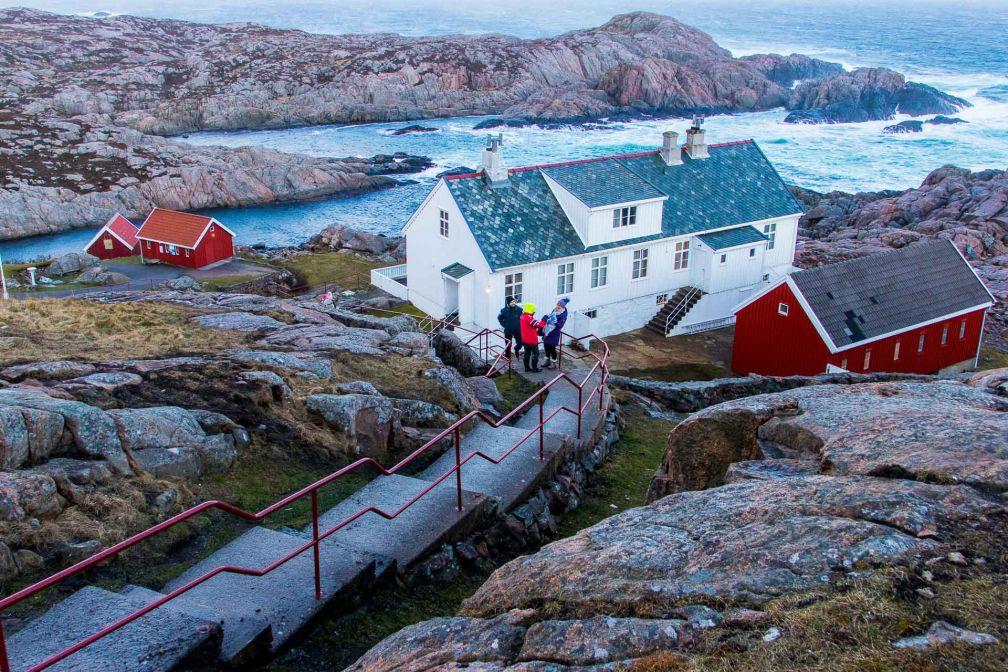 La vue depuis le phare de Lindesnes © Joëlle Bah-Dralou