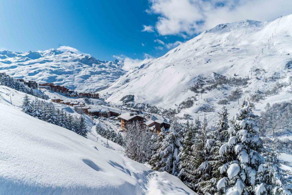 Les Menuires après les premières neiges © Vincent Lottenberg
