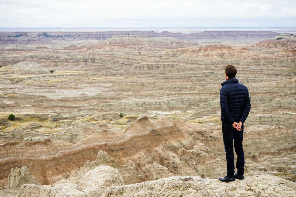 Bienvenue au Parc national des Badlands, l'un des deux parcs nationaux du Dakota du Sud © YONDER.fr