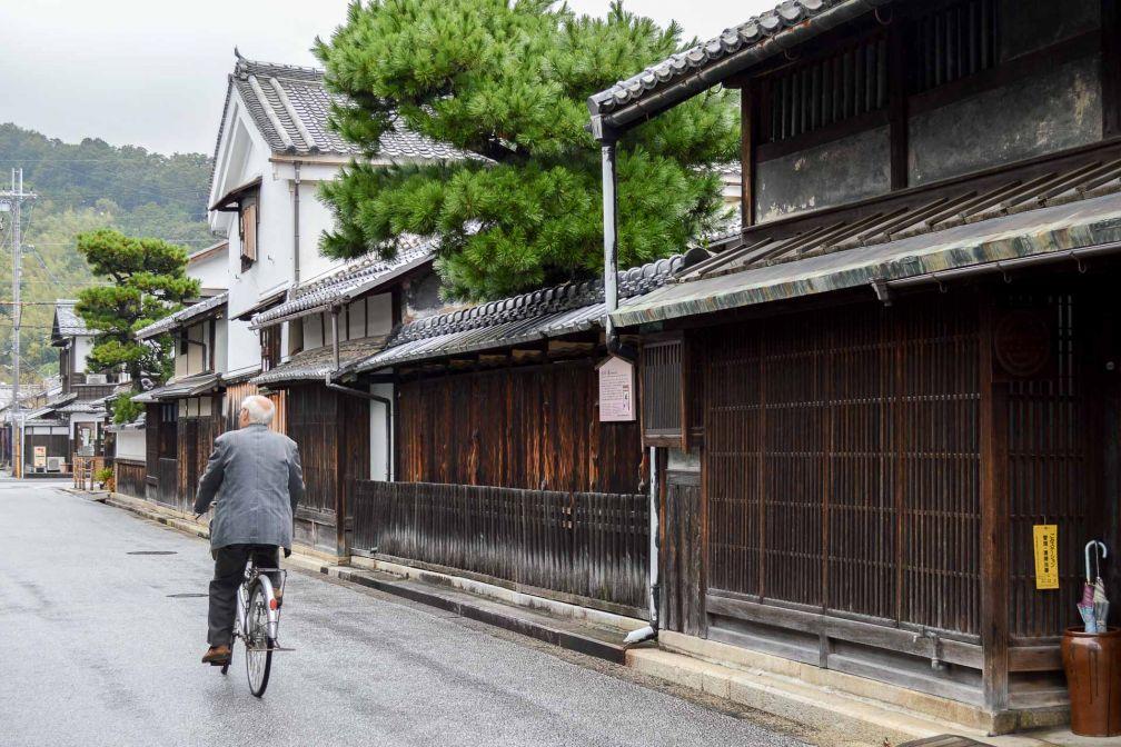 Promenade paisible à Omihachiman. © Pierre Gunther