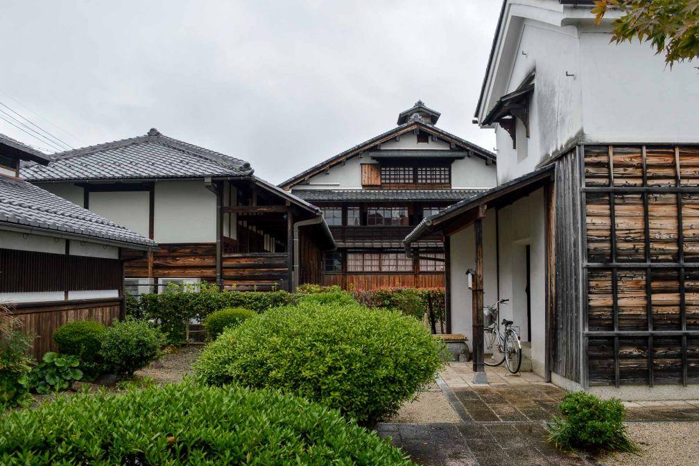 L'architecture de la période d'Edo a été préservée dans de nombreuses villes du Kansai. © Pierre Gunther