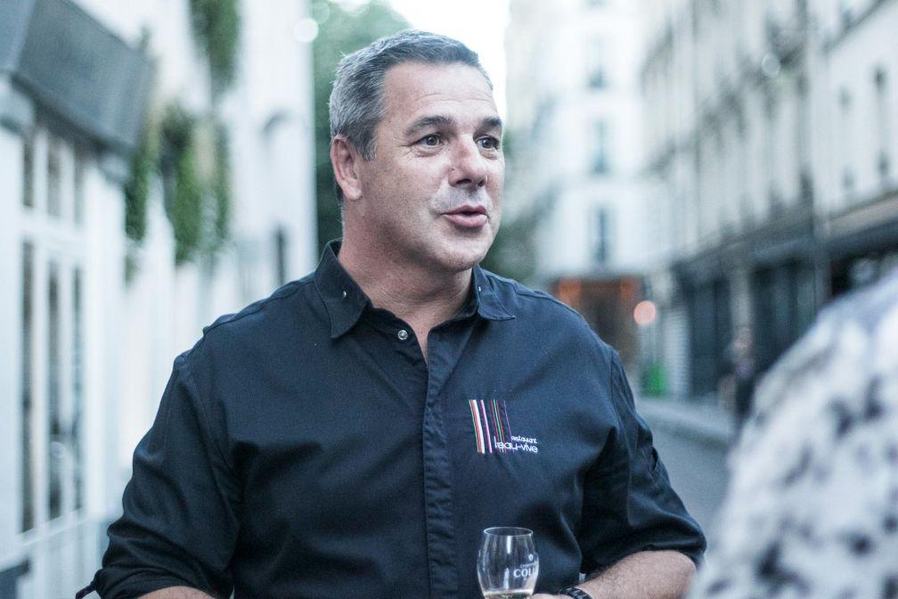 Le chef Pierre Résimont de passage à Paris à l'occasion du Prix Champagne Collet du Livre de Chef © DR