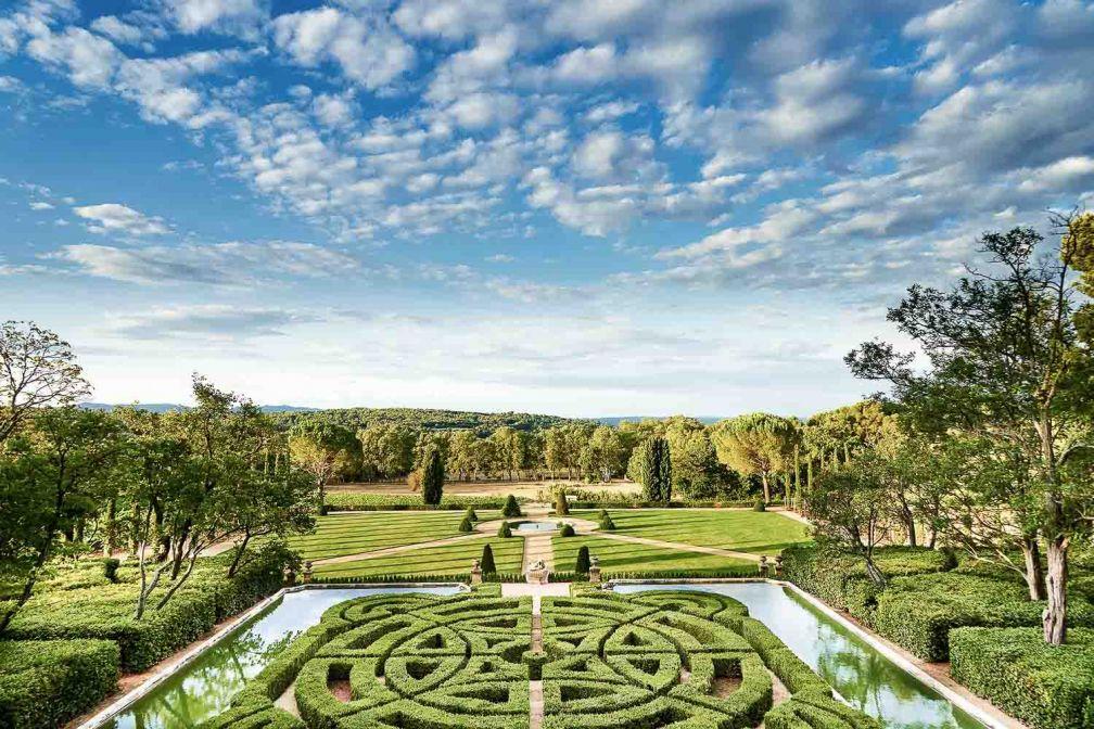 Le parc du Château de la Gaude © Richard Haughton