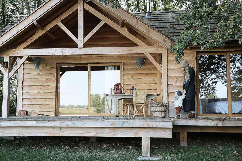 Le Country Lodge et son Domaine des cabanes pour une escapade champêtre en famille © Country Lodge