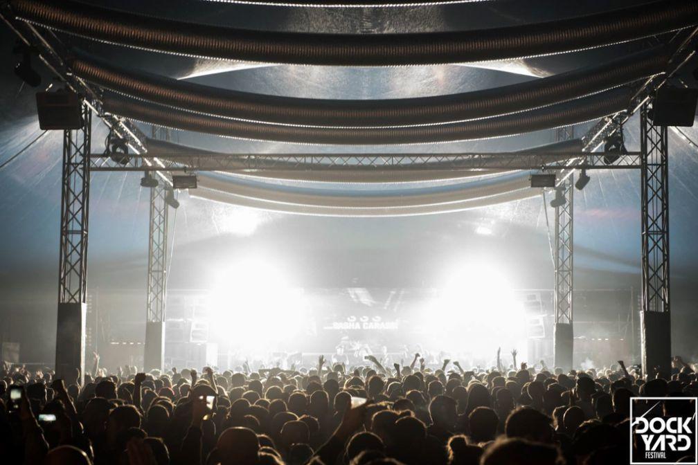Le Dockyard Festival, rave géante dans le quartier industriel en pleine reconversion de NDSM © Dockyard