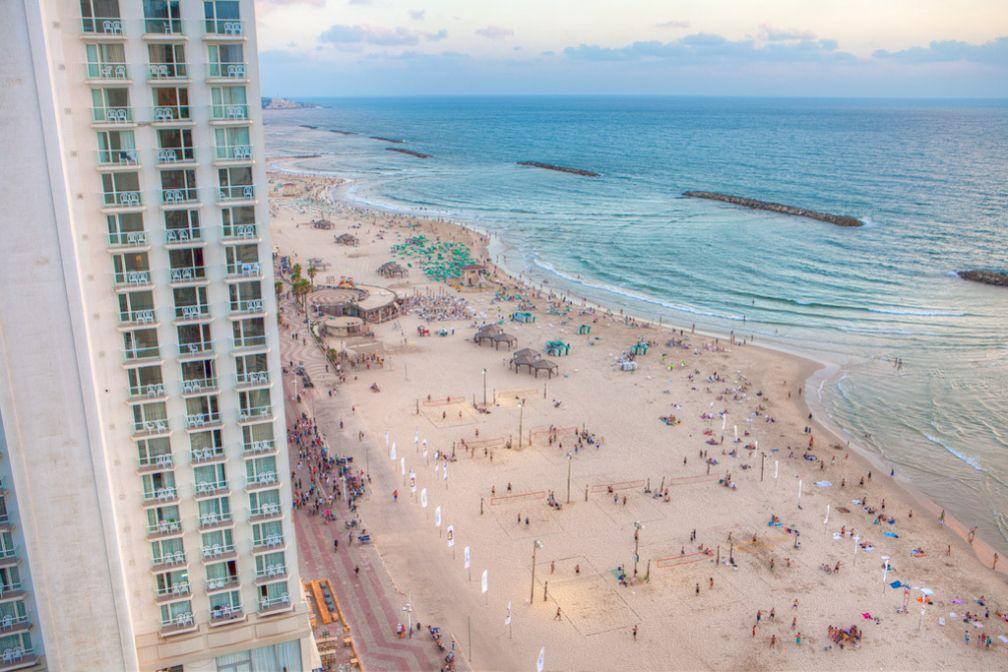Le bord de mer vu d'en haut - CC Flickr ##Israel Tourism@@https://flic.kr/p/cKSQFA