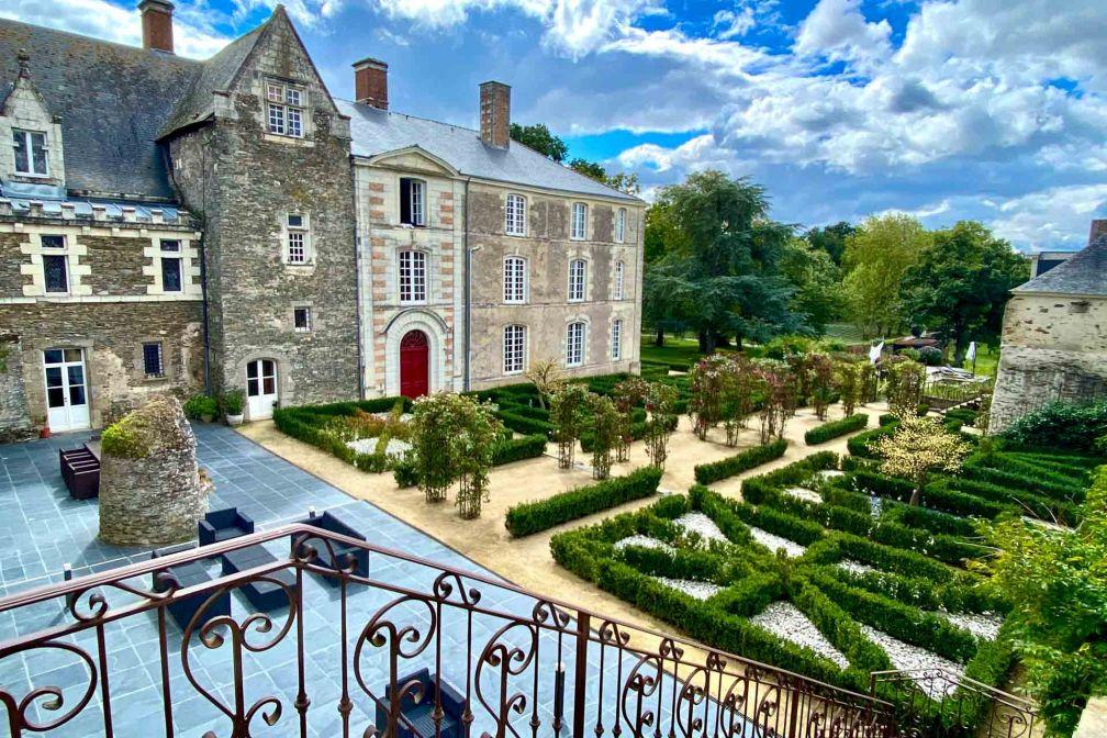 Les jardins intérieurs du Château de l'Épinay © EL | YONDER.fr