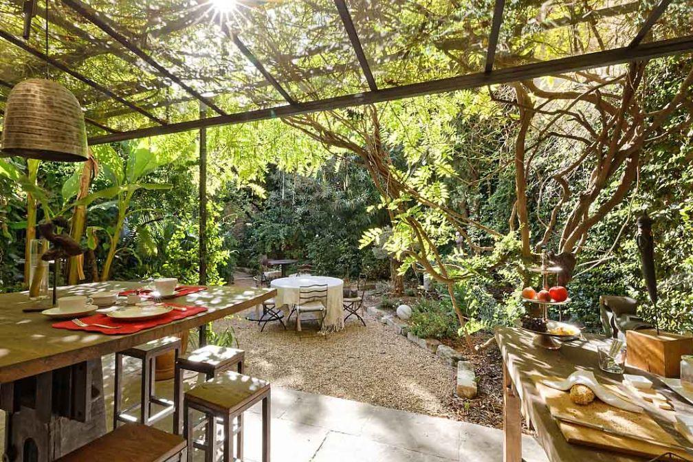 Les Jardins de Baracane, grande maison de famille du XVIIesiècle entourée d'un luxuriant jardin © Michel Alexandrowicz