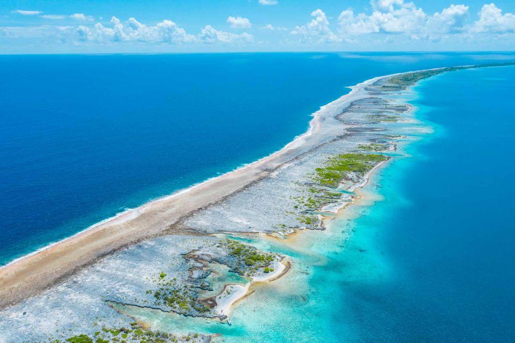 Dans l'archipel des Tuamotu, l'archipel de Fakarava abrite une Réserve de Biosphère classée par l'UNESCO © Jim Winter